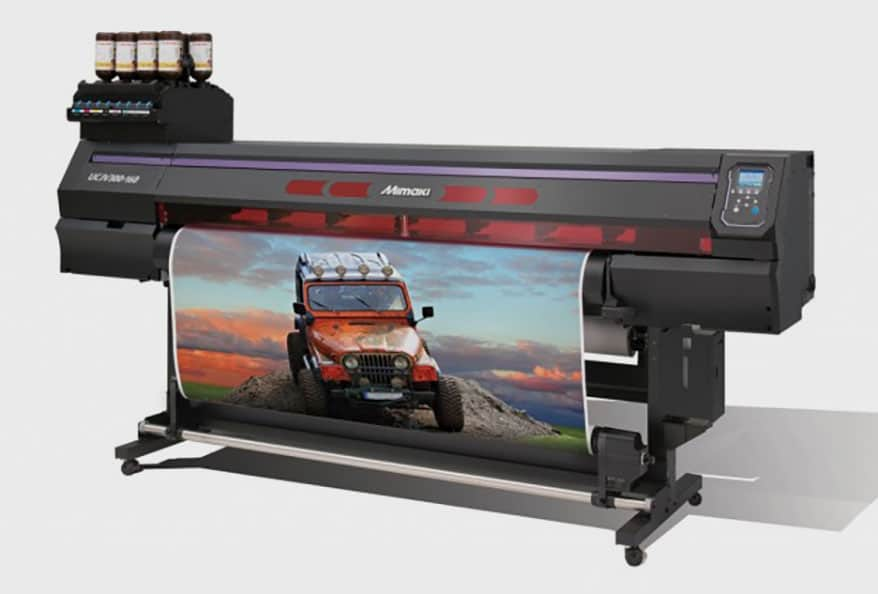 Mimaki has released the UCJV Series of UV LED