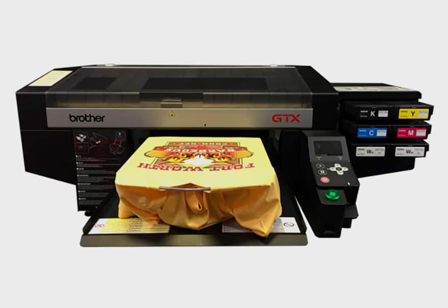 Brother DTG's new GTX printer features three times the number of nozzles as the company's previous model