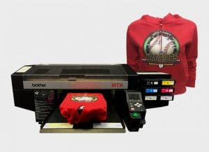 Brother DTG's new GTX printer features three times the number of nozzles