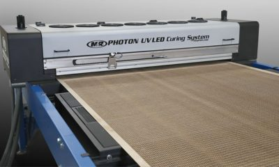 The Photon UV-LED curing system from M&R