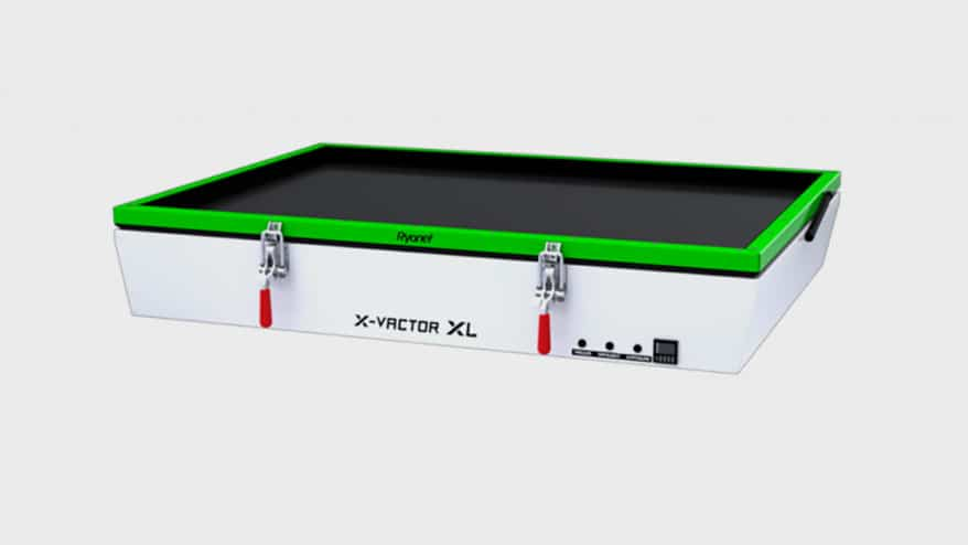 Ryonet has launched a new iteration of its X-Vactor Automated Vacuum Exposure Unit