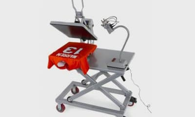 Heat Transfer Equipment Cart from Hotronix