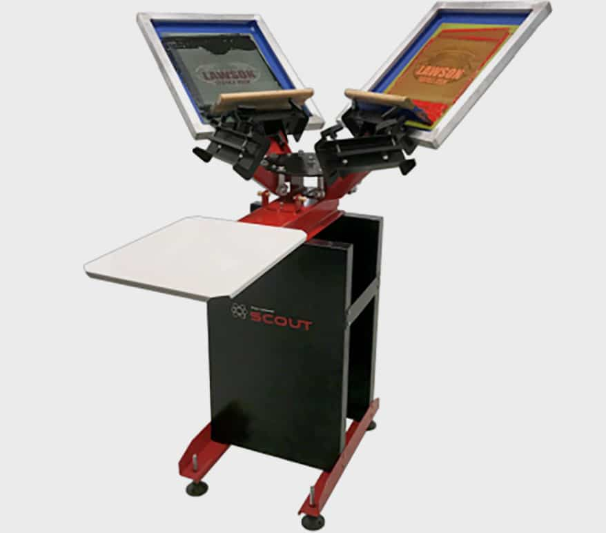 Lawson Offers Start-Up Screen Printing Packages
