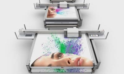 SwissQprint's Oryx LED flatbed printer