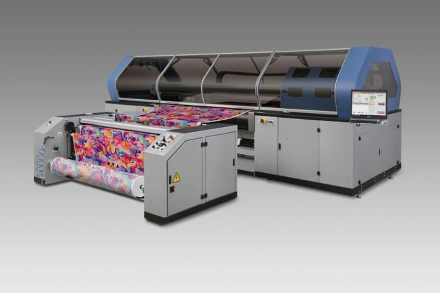 Mimaki's Tiger-1800B Digital Textile Printer