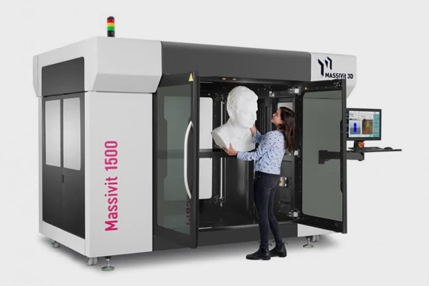 Massivit 3D has revealed the Massivit 1500 Exploration 3D Printer