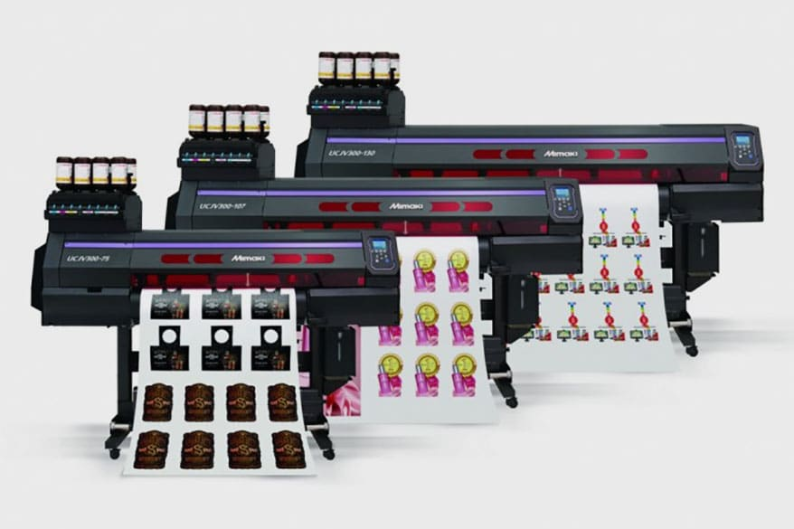 Mimaki has added to its UCJV Series of printer/cutters
