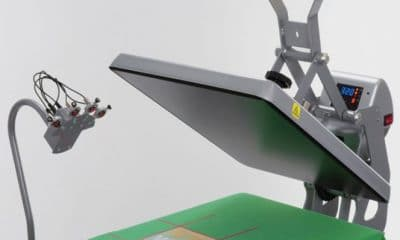 Portable Heat Press Laser Alignment System
