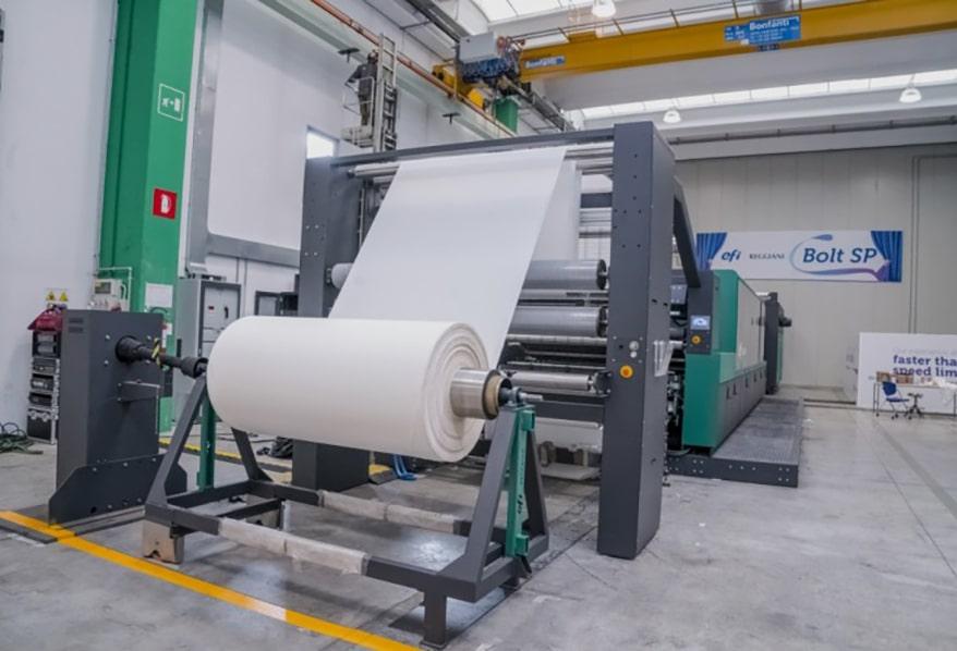 Single-Pass Digital Textile Printer from EFI