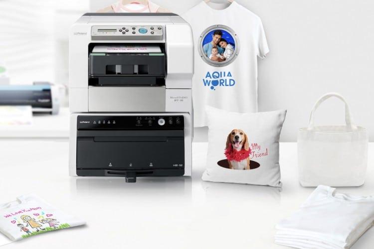 Roland DGA VersaStudio BT-12 direct-to-garment desktop printer