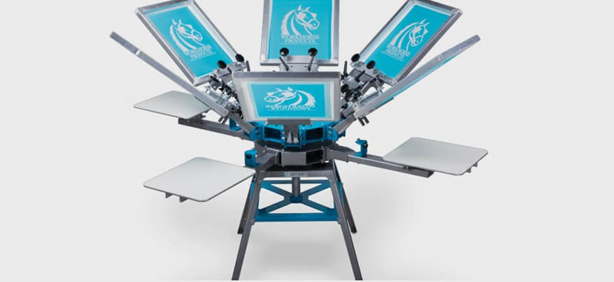 Workhorse Adds 6-Color Manual Press