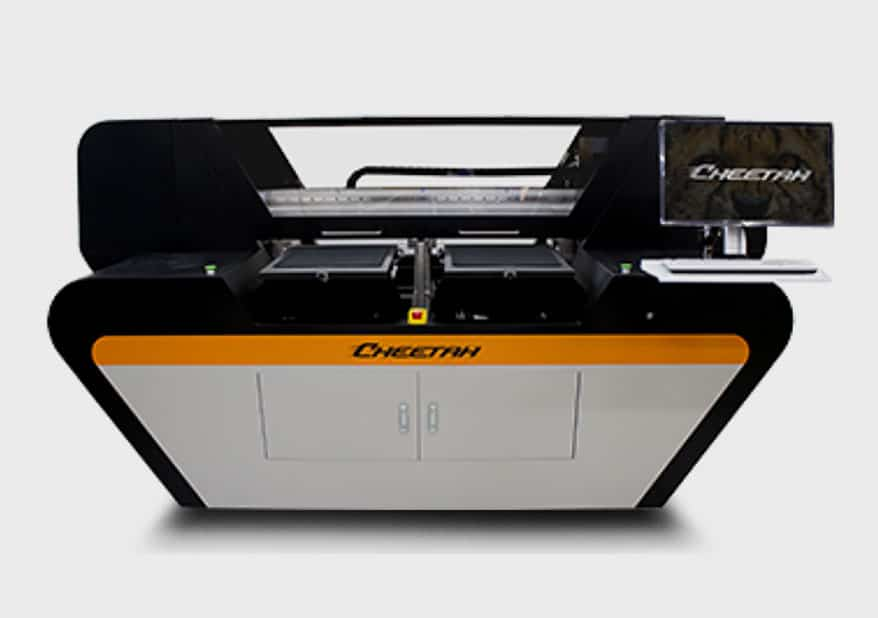 Omniprint Cheetah Single-Pass DTG Printer