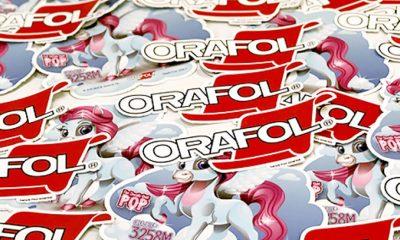 Orajet 3258 offers permanent adhesive.