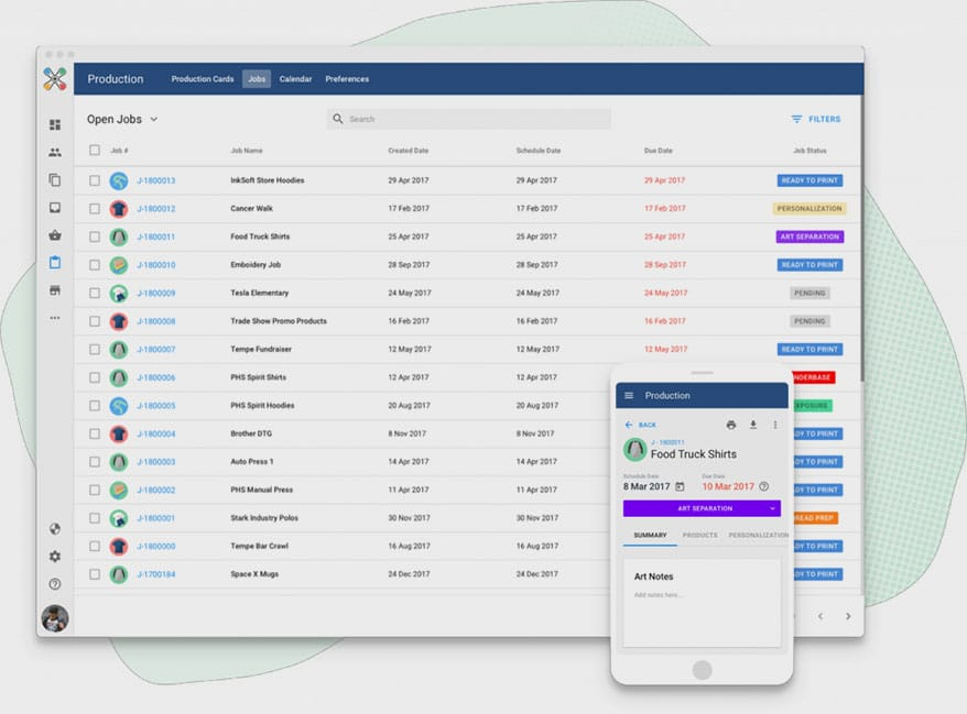 Small Business Screen Printing Inventory Management Software
