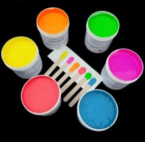 Inks for Silicone Rubber Printing