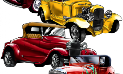 Great_Dane_Graphics_New_Designs_Vintage_Cars