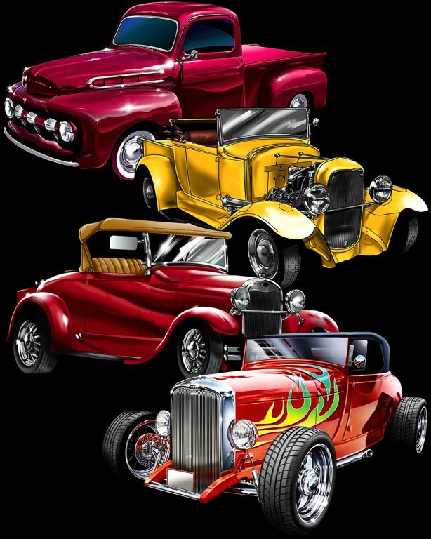 Great_Dane_Graphics_New_Designs_Vintage_Cars