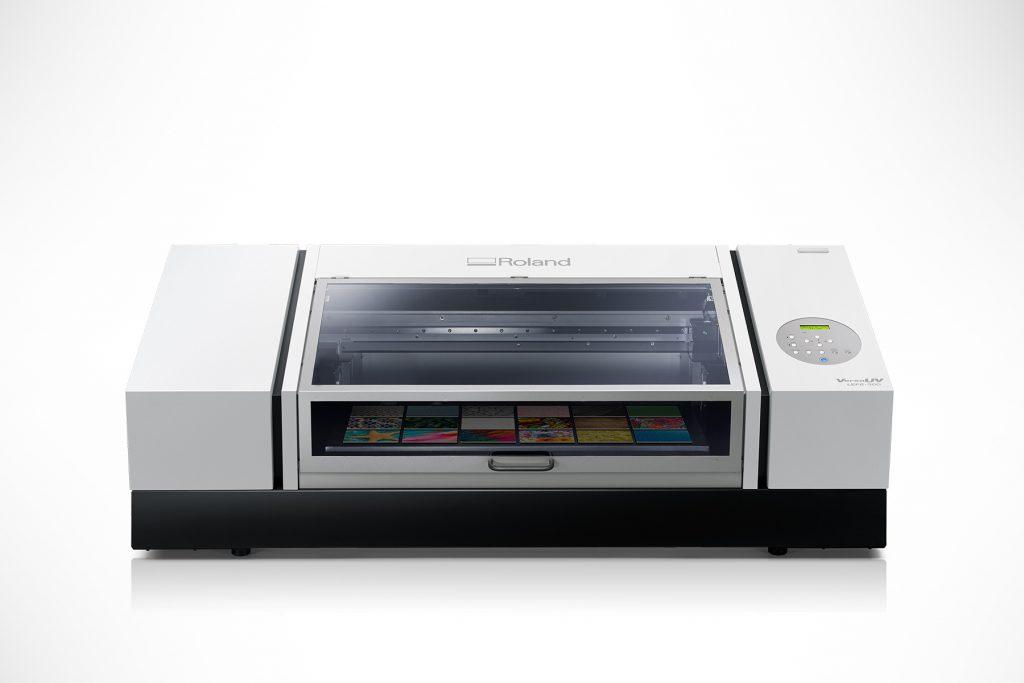 Roland DGA IU-1000F high-volume UV-LED flatbed printer