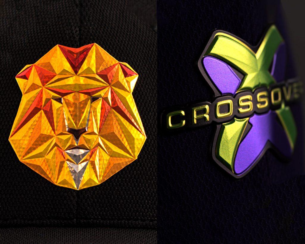 Stahls' Flexstyle 3D emblem line with beveled edges