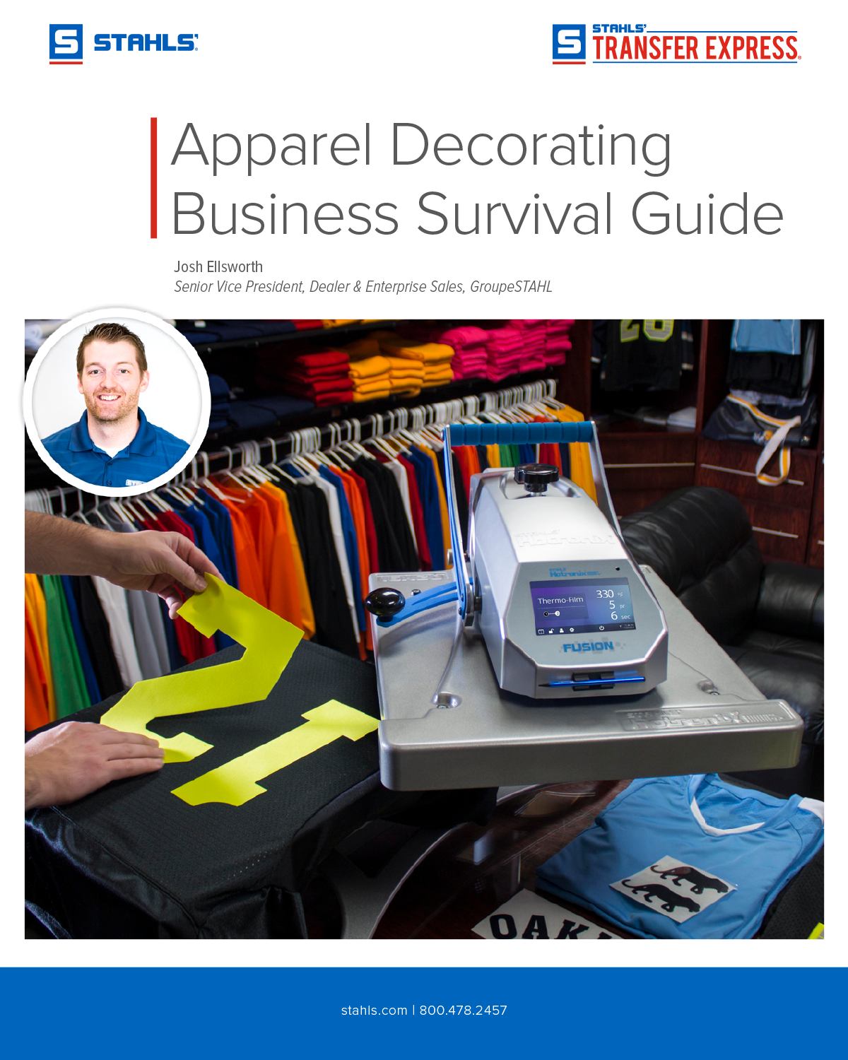 Stahls Apparel Decorators Survival Guide EBook