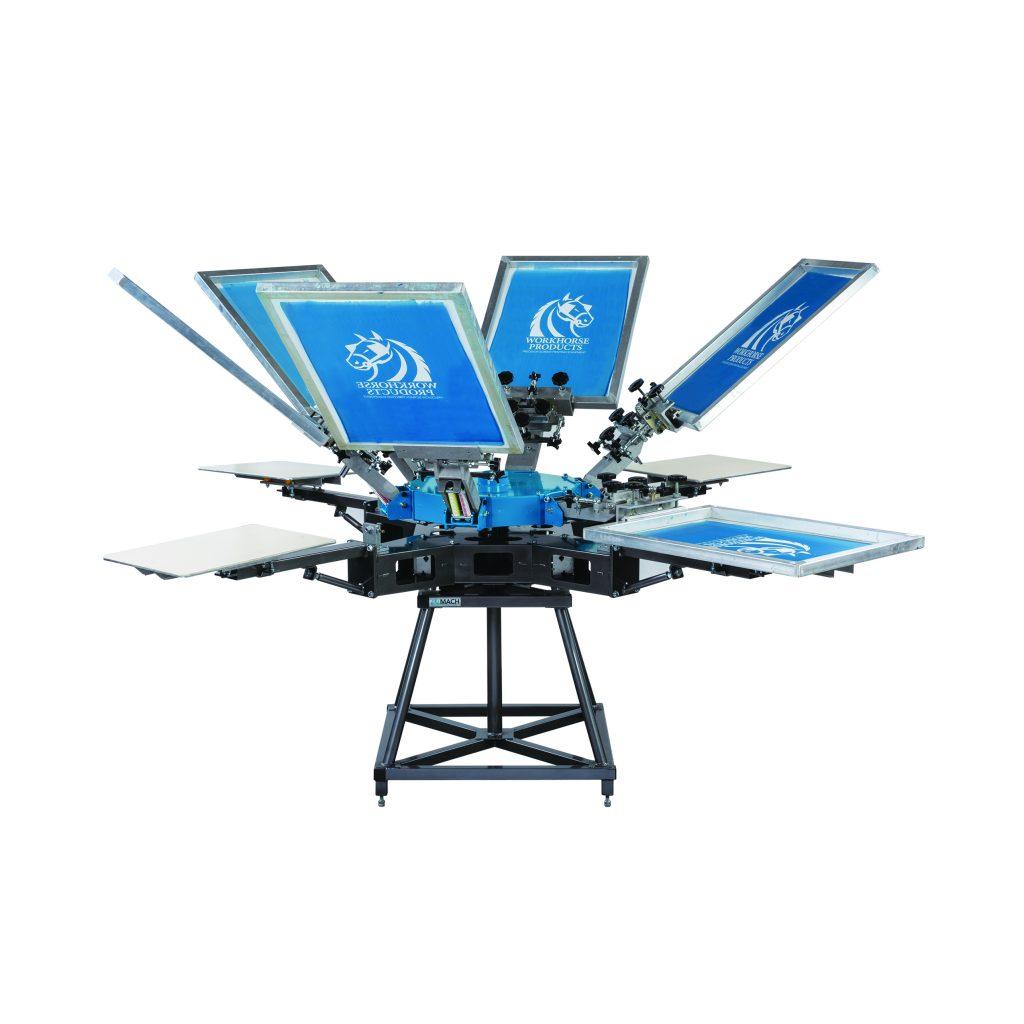 Workhorse Updated Mach Manual Press