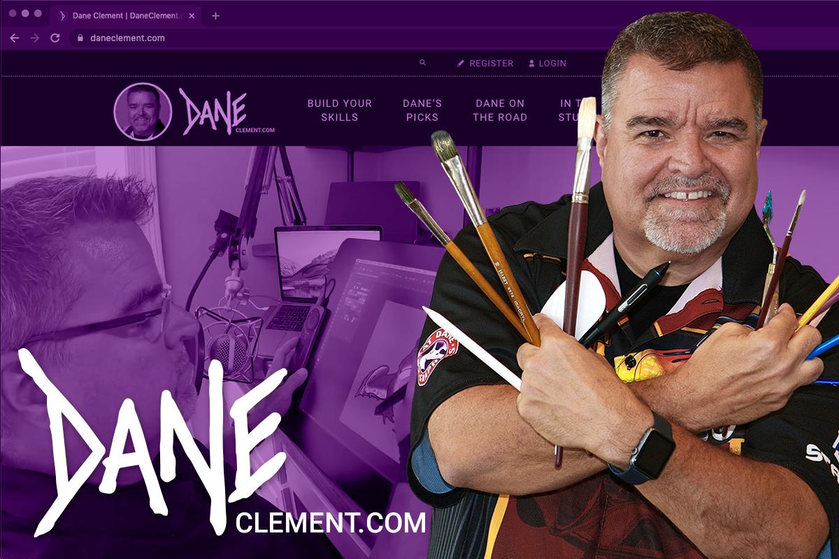Dane Clement Launches New Website