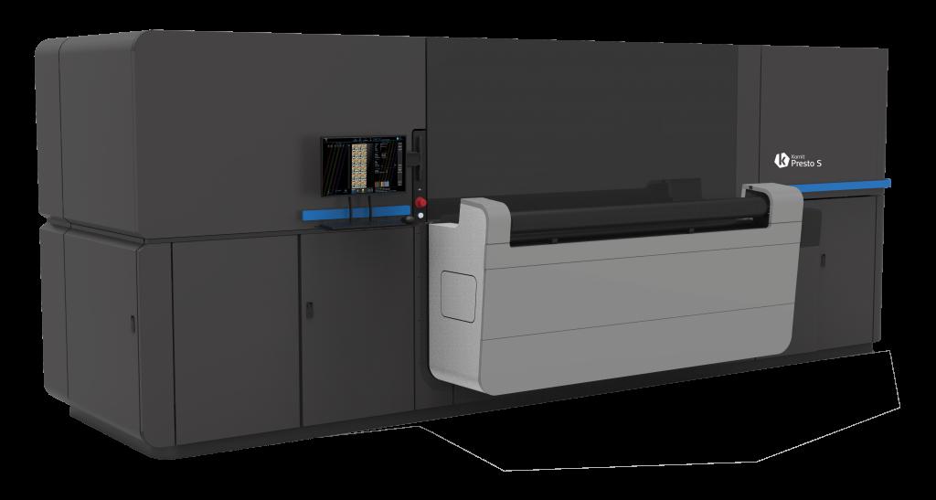Kornit Digital 70.8-in. Presto roll-to-roll direct-to-fabric printer