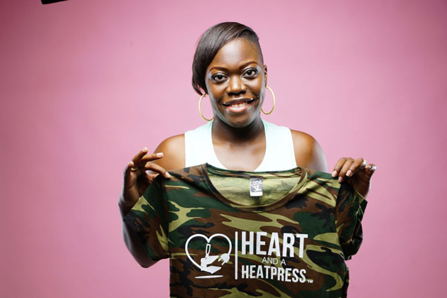Screen Printer Turns Her Dream Side Hustle Into a Full Time Passion
