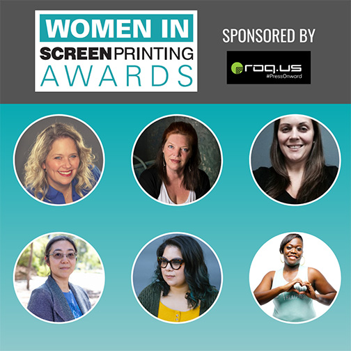 Women in Screen Printing Award Winners to be Announced During Virtual Event