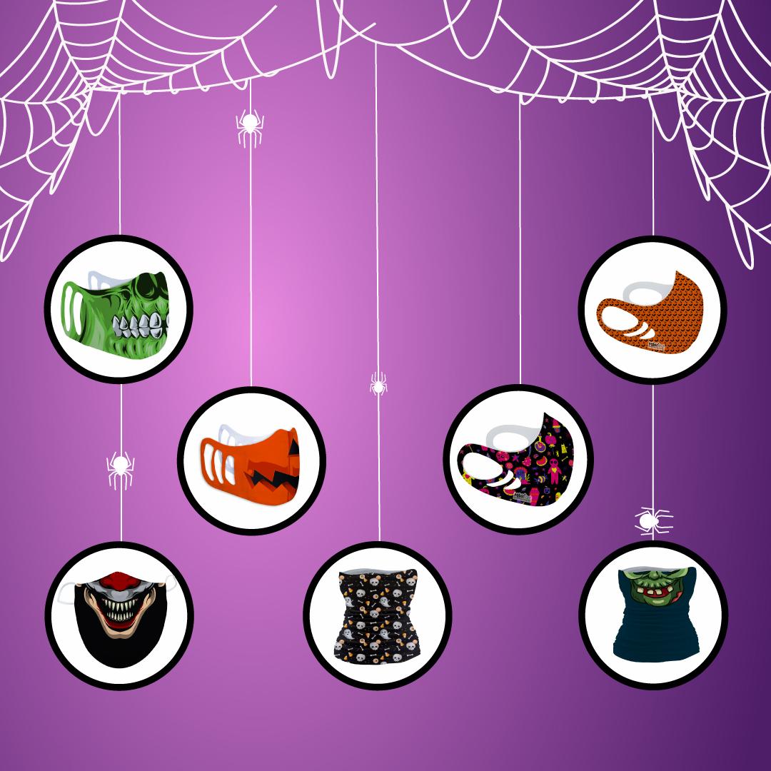 World Emblem Halloween Face Masks
