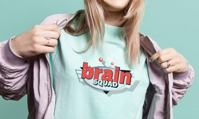 Screen Printing Brain Squad