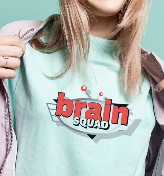 Screen Printing Brain Squad
