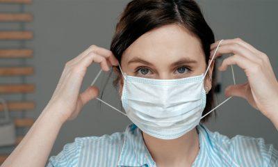 lady wearing mask