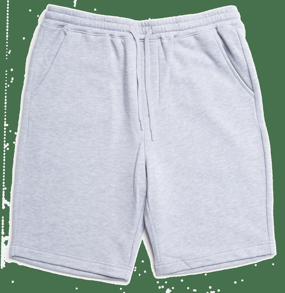 Independent Trading IND20SRT Men's Fleece Shorts Grey