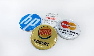 Name Badges International CIRCLE BADGES