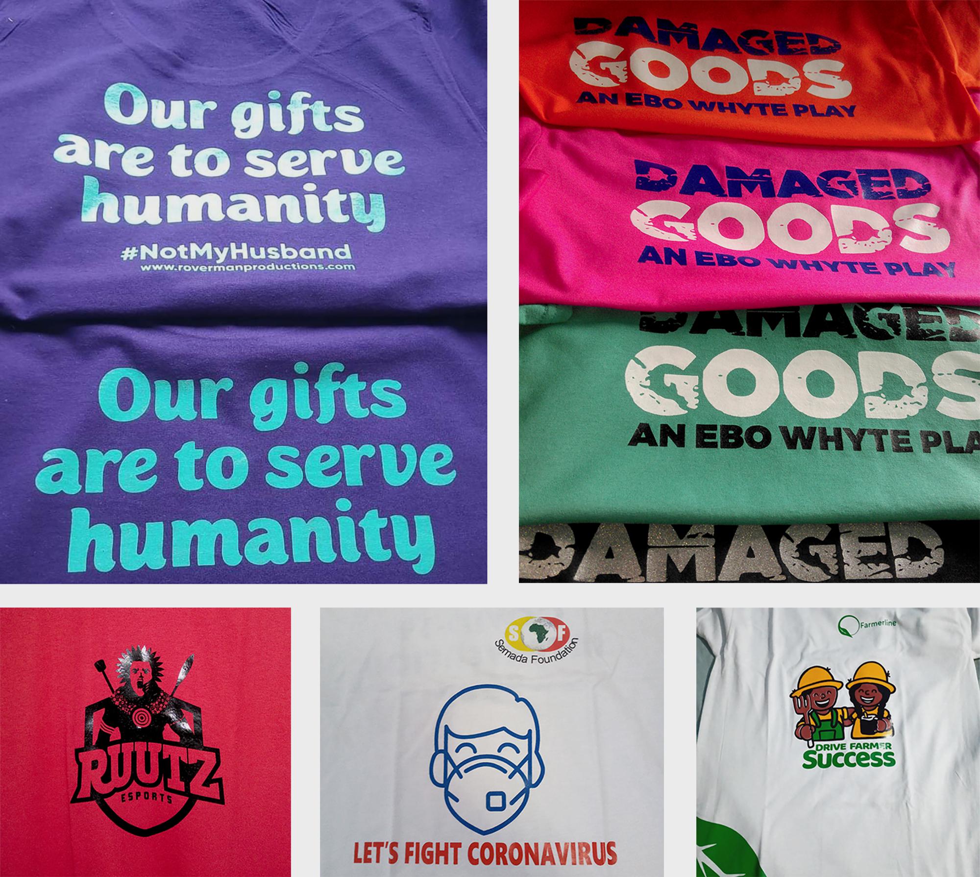 Robert mensah Shirt designs