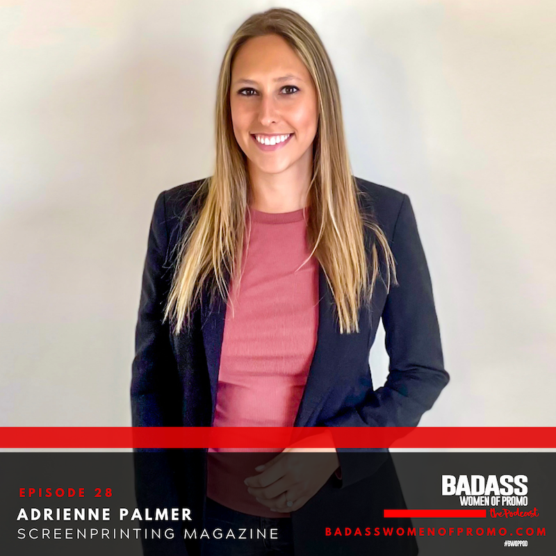 """Adrienne Palmer Appears on """"Badass Women of Promo"""" Podcast"""