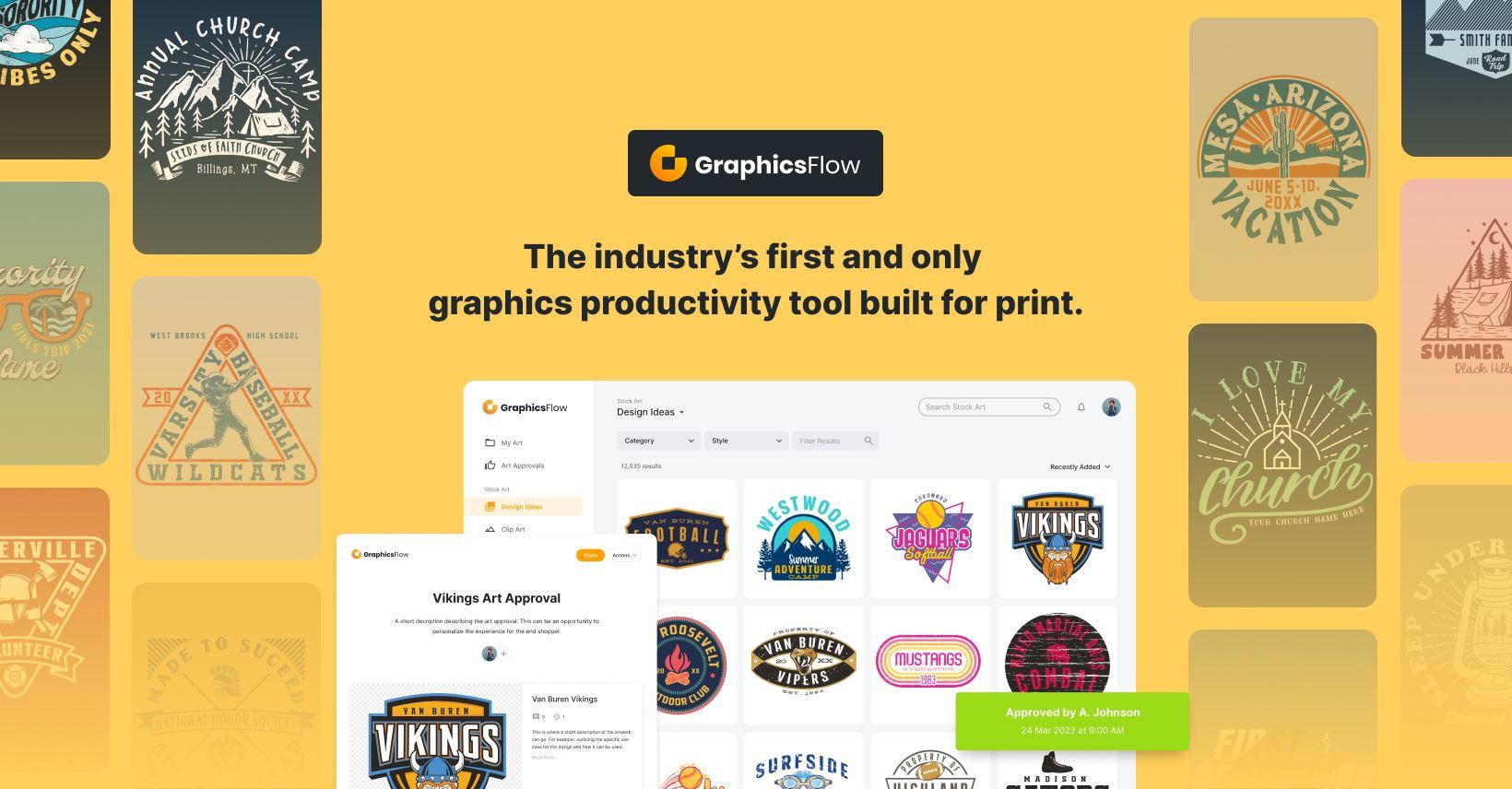 InkSoft Rebrands Digital Art Solutions to GraphicsFlow
