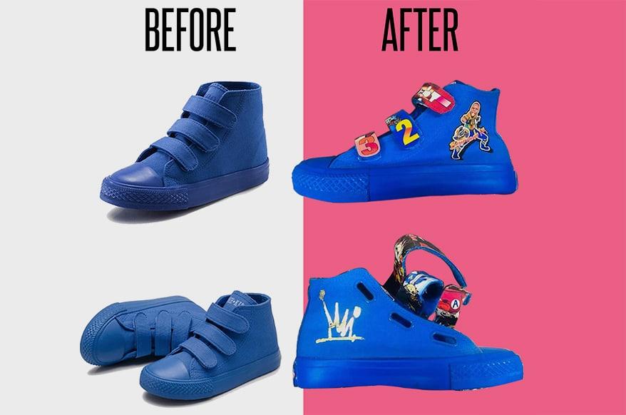 How to Create Custom Shoes: a 3-Step Guide