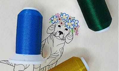 Madeira USA Polyester Metallic CR Embroidery Thread