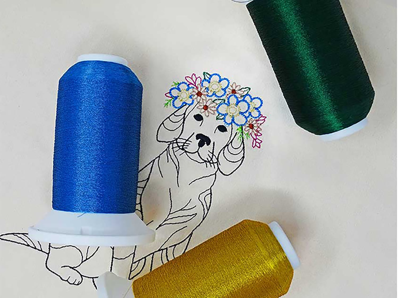 Madeira USA Polyester Metallic CR Embroidery Thread