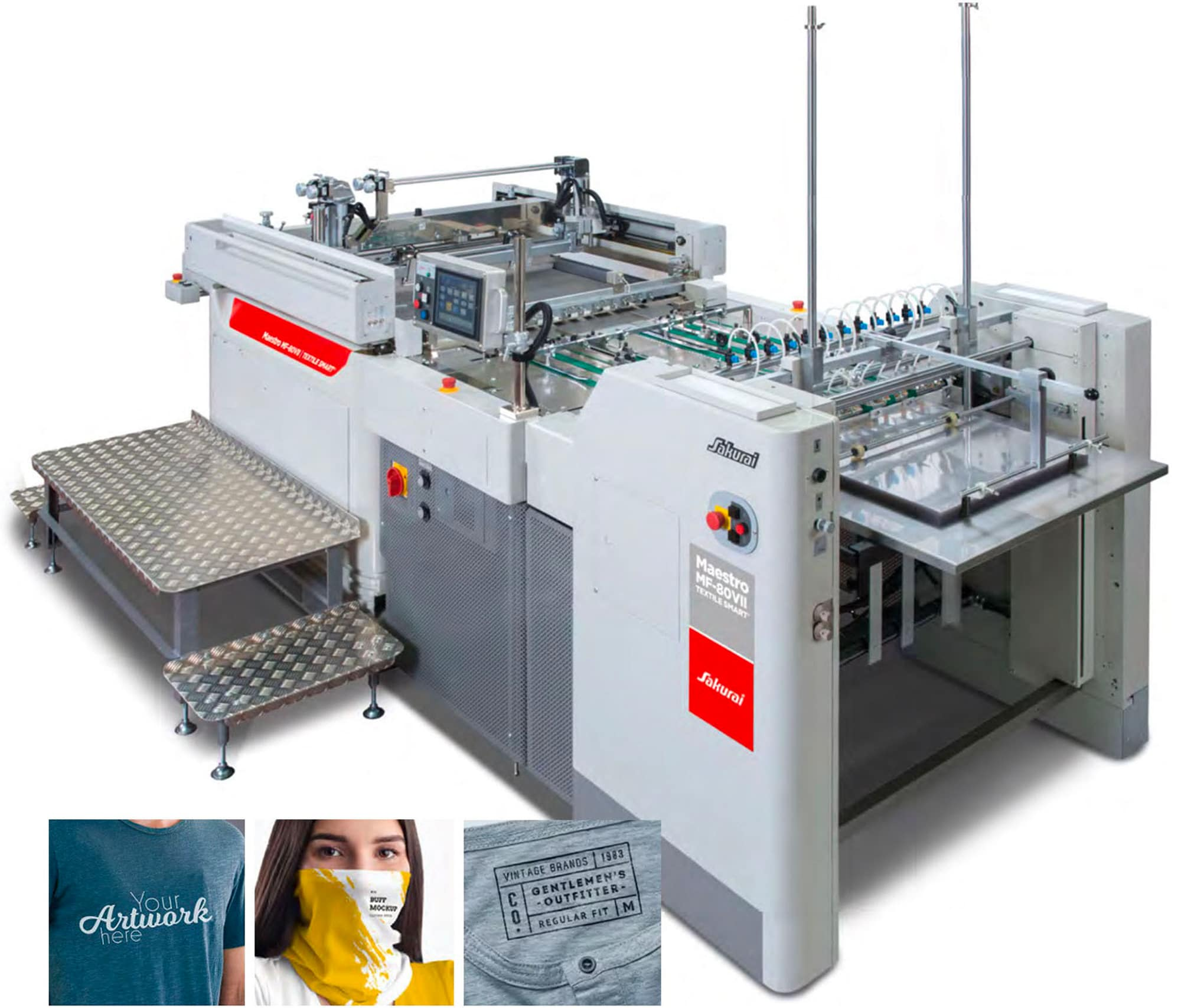 Sakurai Smart Textile Screen Press