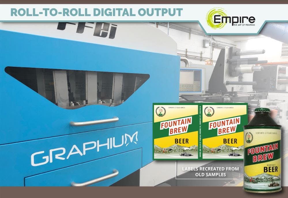 Empire Highlights Graphics Solutions for the Food and Beverage Industry